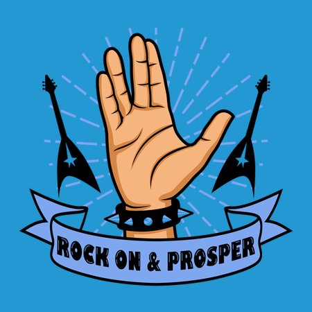 Rock on and Prosper T-Shirt