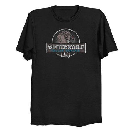 Winter World - Parody Game of Thrones T-Shirts