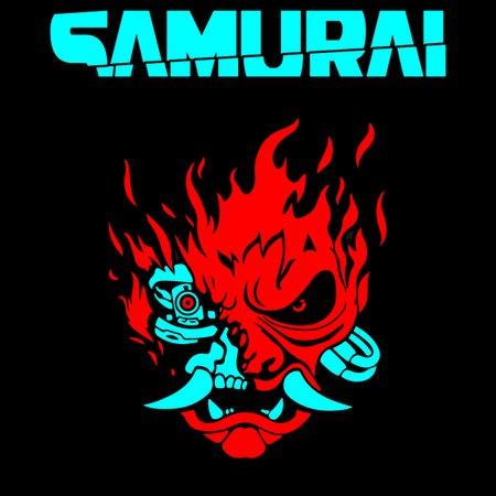 cyberpunk 2077 samurai neatoshop
