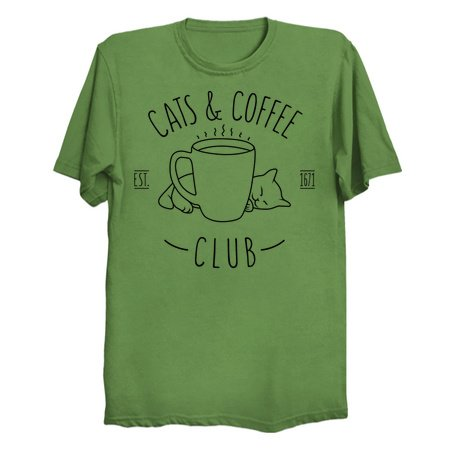 Cats and Coffee club T-Shirts