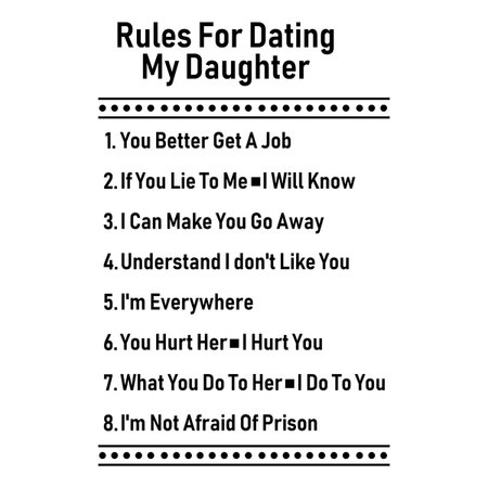 dads rules for dating
