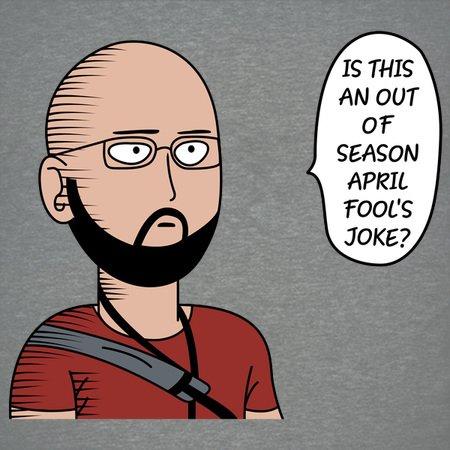 Резултат с изображение за is that an out of season april fools joke