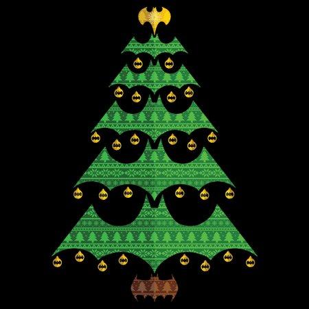 Batman Christmas.Holy Christmas Tree Batman