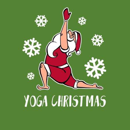 Christmas Holiday Party.Yoga Christmas Shirt Christmas Holiday Party Meditation Spirit