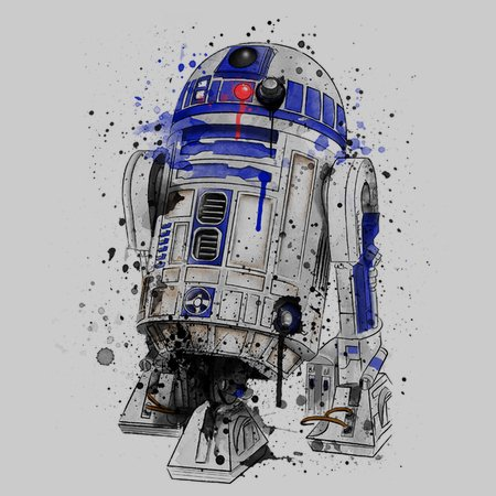 Droid Watercolor T-Shirt