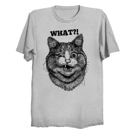 WHAT? Cat T-Shirts and Tanks