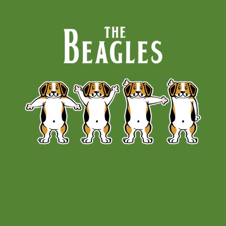 ab8cebb1a The Beagles Shirt Dog Lover Parody Puppy Pets Music - NeatoShop