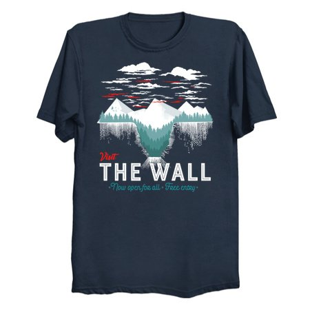 Visit The Wall - Game of Thrones T-Shirts