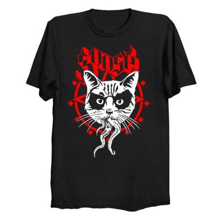 Black Metal Cat - Tees and Tanks