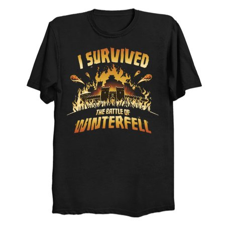 Long Night Survivor - Game of Thrones SPOILER tees