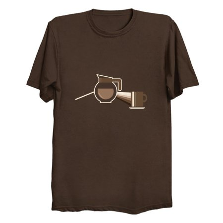 The Darkside of the Morning - Coffee T-Shirts