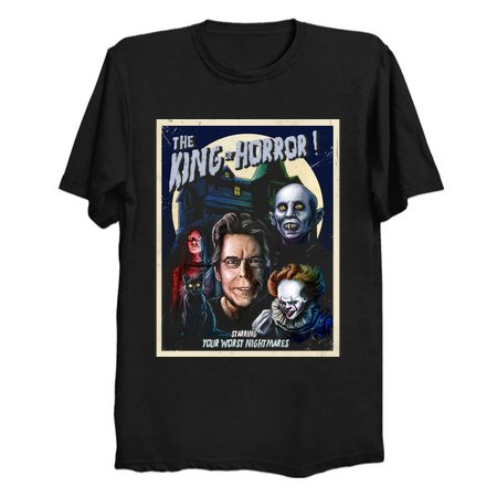 King of Horror T-Shirts