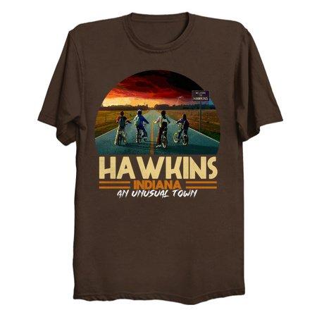 HAWKINS Stranger Things Tee