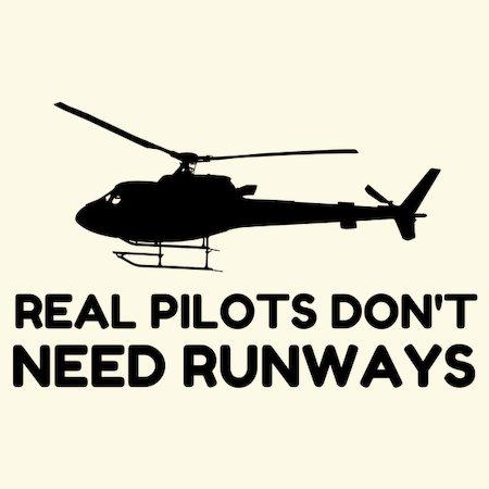 Helicopter PILOT RUNWAYS - NeatoShop