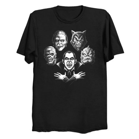 Bohemian Monster - Parody Horror T-Shirts